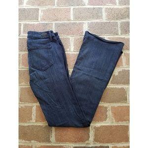 Paige Skyline Boot Cut Dark Wash Jeans